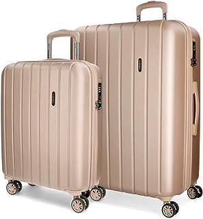 MOVOM Wood Luggage Set 70 centimeters 119 Beige