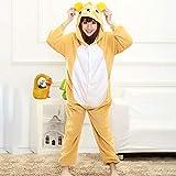 MA Pijama Adulto Jirafa Amarillo Kigurumi Onesies Cosplay Disfraz Anime 3D Monokuma Pijamas Fiesta de Halloween Monos Pijamas Traje-Oso_SG