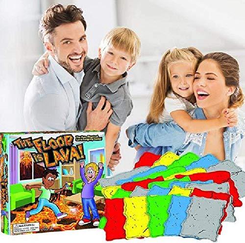 GEYUAN El más nuevo juego de cartas giratorio de volcán creativo para niños y adultos, juego de mesa interactivo para fiestas, cumpleaños y juegos familiares