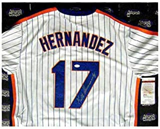 Authentic Autographed Keith Hernandez Baseball Jersey JSA Authentication (new York Mets)