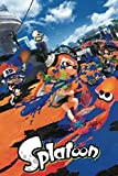 Pyramid America Splatoon Ink Or Be Inked Video Game Gaming Cool Wall Decor Art Print Poster 24x36