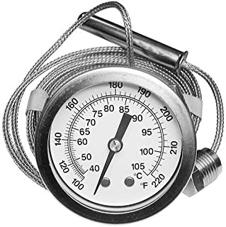 Hobart 437041-3 Thermometer Gauge Temp 100 To 200 F W/2