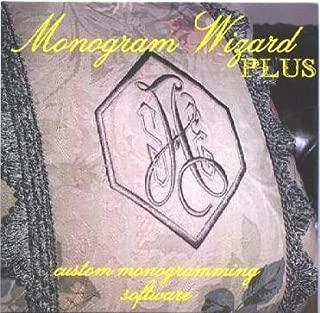 Monogram Wizard plus software PLUS 2 FREE ALPHA PACKS