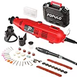 Populo High Performance Rotary Tool Kit with 107...