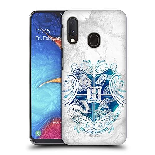 Head Case Designs Ufficiale Harry Potter Hogwarts Aguamenti Deathly Hallows IX Cover Dura per Parte Posteriore Compatibile con Samsung Galaxy A20e (2019)