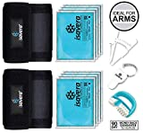 Isavera Arm Fat Freezing System - Arm Fat Freezer and Shaper Wraps for Flabby Arms – Weight Loss Trainer Slimmer Sleeve – Fat Reducing Bands review