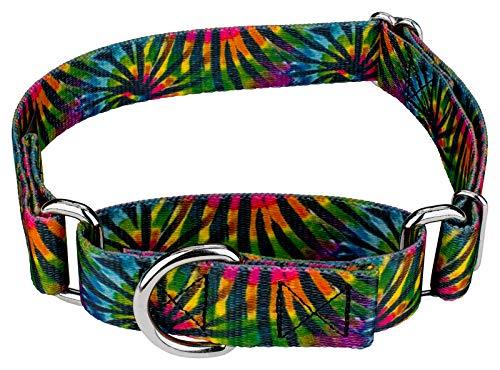 Stripe Martingale Dog Collar - 7