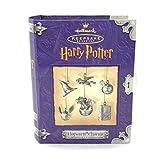 Hallmark Keepsake Ornament Harry Potter Hogwarts Charm 6 Ornaments /Decorations Pewter
