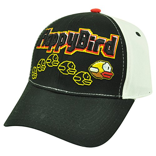 Flappy Bird Game Over Snapback Baseball Cap