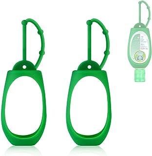 NMD&LR Hand Sanitizer Hanger Case, Silicone Case Portable Hanging Case Carrying Case For Dettol 50ml Hand Sanitizer