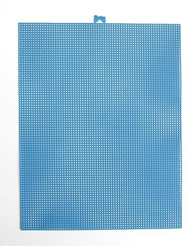 Darice 33900–40 Plastique sur Toile 7 Comte, Multicolore, 10 x 33 cm