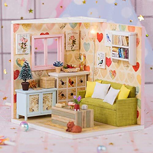 NAN Prinzessin Spielhaus Spielzeug DIY Kunststoff Hütte Bausteine Spielzeug Handgemachte Mädchen Geburtstagsgeschenke