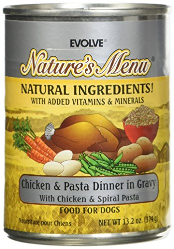 Evolve Natures Menue Dog Food Cans
