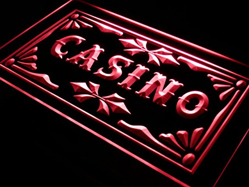 ADV PRO i708-r Casino Beer Pub Games Poker Bar Neon Light Sign Barlicht Neonlicht Lichtwerbung