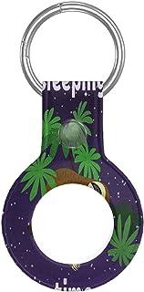 AirTag ケース 保護ケース 保護シェル 2021 PUレザー キーホルダー ラベルキーチェーン 軽量 薄型 防水 擦傷防止 耐衝撃 キーカバン キーリング 財布 ペットスマートロストラッキング 信号は強いまま AirTag専用保護カバー ...