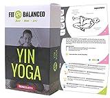 FIT&BALANCED Yin Yoga Übungskarten, sanftes Yoga, für Anfänger und Fortgeschrittene, mit 70 Yogaübungen, Yogabox