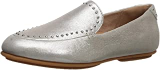FITFLOP Womens Y51 Lena Microstud Shimmy Suede Loafer