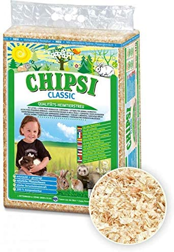 Pet Centre Chipsi Classic Wood Shavings Bedding/Litter for Small Animals (3.2 kg)