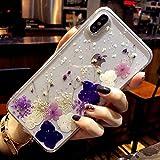 Bakicey Coque de protection fine en gel pour iPhone 11 - Motif fleurs séchées - Fabriquée à la...