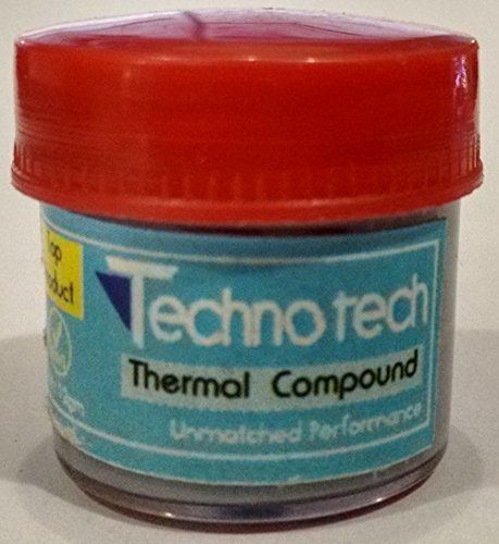 Technotech Technologies 12 GM Grey Thermal Heatsink Compound, Paste, Grease for CPU Fan