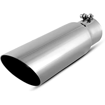Gibson 500370 Polished Stainless Steel Exhaust Tip
