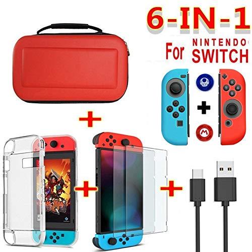 OUYAWEI Erelectronics - Funda protectora de pantalla para Nintendo Switch