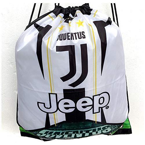 Aufbewahrungstasche für Juventus Fußballschuhe, Fanartikel, leicht zu tragen, Geburtstagsgeschenk, 2 Stück