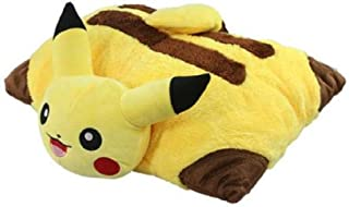 WRT 🍒2019 Newest Soft Plush Pikachu Pillow, Universal for Boys and Girls
