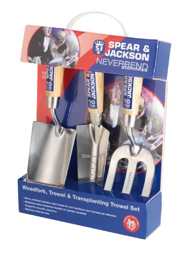 Spear & Jackson 3056GS/12 Kit di 3 Attrezzi da...
