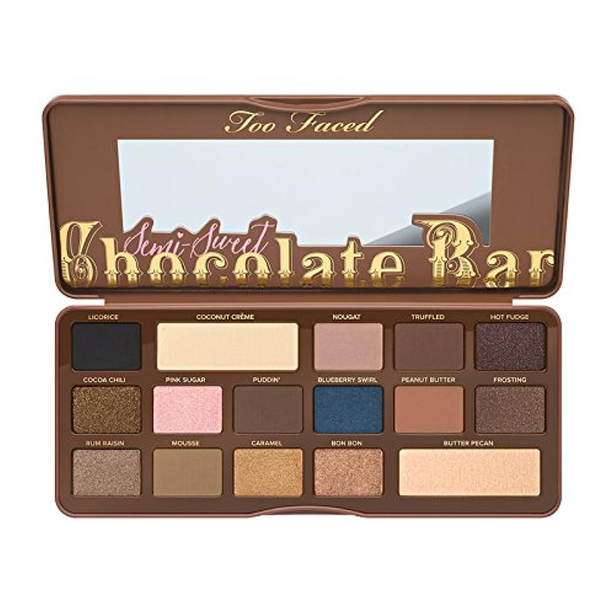 王室言い訳パットToo Faced Semi-Sweet Chocolate Bar Eye Shadow Collection (並行輸入品) [並行輸入品]