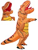 FUNNY COSTUMES Dinosaur Inflatable Costume for Adult (Dino Brown Large)