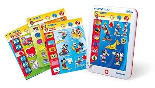 Sapientino Clementoni – 13261 Magic Cards Lettres et Chiffres, 4 – 6 Ans Mickey Mouse 3-5 Anni