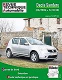 E.T.A.I - Revue Technique Automobile B761 - DACIA SANDERO I - 2008 à 2012