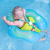 Free Swimming Baby Inflatable Baby Swimming Float-Helps Baby Learn to Kick and Swim