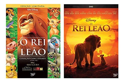 Coleção O Rei Leão = 4 DVD's