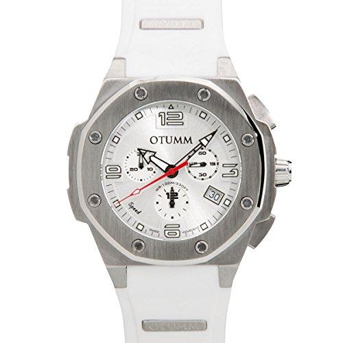 Otumm Unisex Uhr SPST45003 mit Silikon Armband