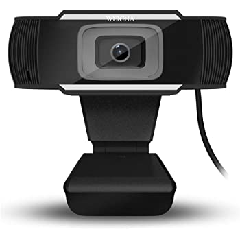 HD Webcam 1080P with Microphone, Computer Web Camera USB Mac Laptop or Desktop Web Cam for Streaming, Video Calling and Recording, 360 Degree Rotatable Video