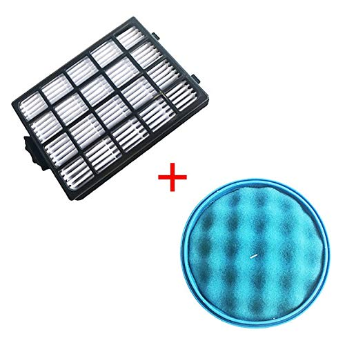 Without brand LT-Home, 1PC Sponge Filter & 1PC H13 HEPA-Filter for Samsung SC21F50 SC15F50 SC18F50 SC50VA VC-F700G VU700 Roboter Staubsauger-Teile (Farbe : HXL6137)