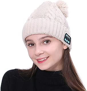feelingood Warm Beanie Hat Wireless Bluetooth Smart Cap Headset Headphone Speaker with Mic