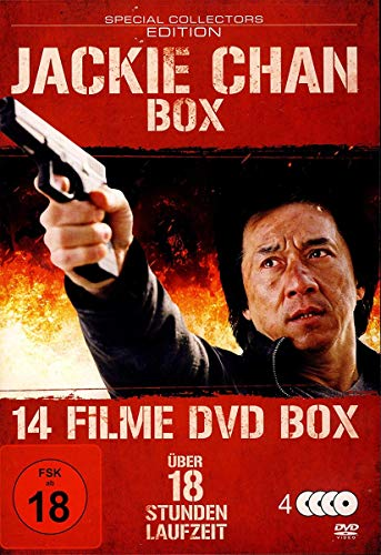 Jackie Chan : 14 Filme Box - Top Fighter - Blood Fingers - Eagle Shadow Fist - Fire Dragon ua - 4DVDs