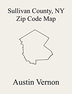 Sullivan County, New York Zip Code Map: Includes Callicoon, Cochecton, Fallsburg, Liberty, Neversink, Rockland, Highland, Forestburgh, Lumberland, Bethel, Delaware, Fremont, Mamakating, Thompson, and
