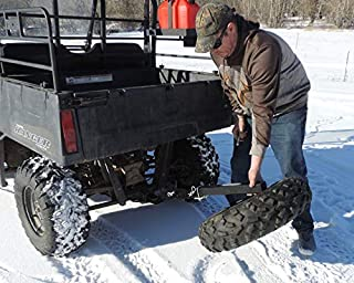 UTV Swing Fold Down Receiver Hitch Spare Tire Mount U-4047S Made in USA Steel Powder Coated