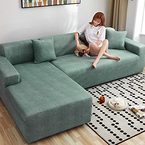 NSXBY 3,2,Terciopelo Cubierta De Couch Elasticidad Cubierta De La Silla Recliner Muebles Sofá Loveseat Cover Protector,Sofá De 4 Cojines,Felpa Cubierta del Sofá para 1-Y 三人位(适用190-230cm)