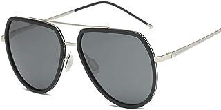 FRGTHYJ - FRGTHYJ Gafas de Sol polarizadas Hombres Gafas de Sol polarizadas Gafas de conducción Gafas clásicas clásicas de Estilo Simple P1