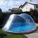 CABRIO-DOME für Rundbecken mit 500 cm Durchmesser...