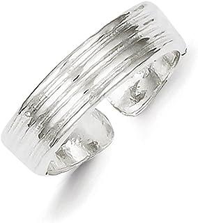 Lex & Lu Sterling Silver Toe Ring LAL22495