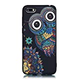 LAXIN Enjoy 8e Youth Case, Cute Owl Design Printed Soft Back Cover with TPU Bumper Protective Case...