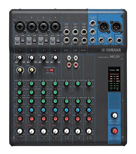 Yamaha MG10 10-Input Stereo Mixer (Renewed)