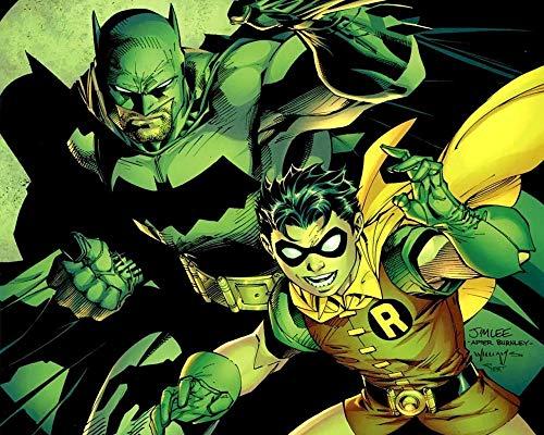 XHXYTSM Rompecabezas para adultos y niños 1000 piezas Batman-dibujos animados Tangram de lógica de madera Super duro clásico Ocio y entretenimiento Juegos familiares Regalo creatividad