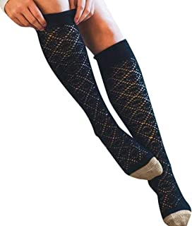 Tops -Girls Ladies Women Thigh High Over The Knee Socks Long Cotton Stockings Warm